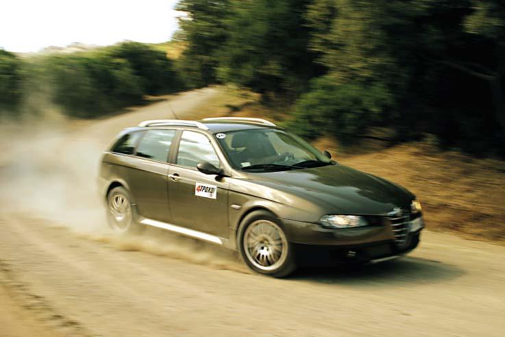 Alfa Romeo Crosswagon. H Alfa Romeo Crosswagon Q4 δεν